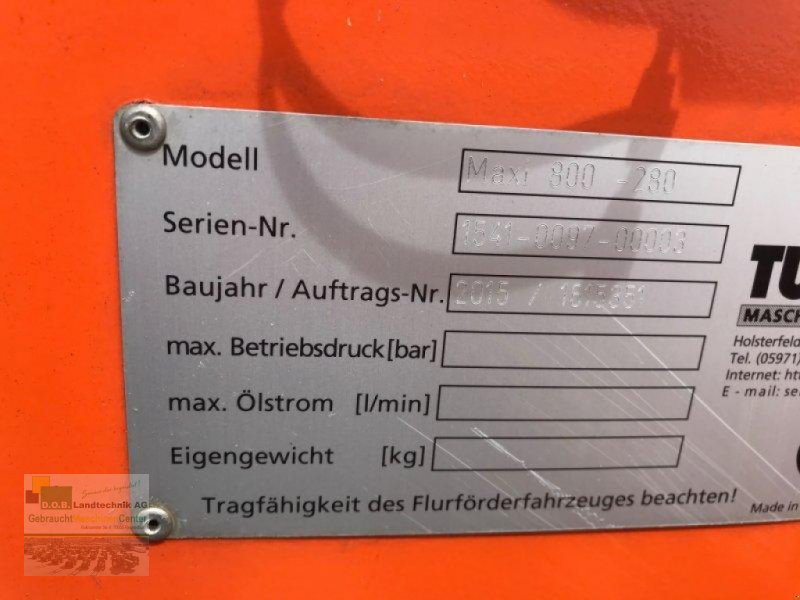 Kehrmaschine des Typs Tuchel Maxi, Gebrauchtmaschine in Regensburg (Bild 2)