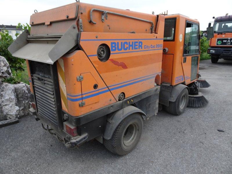 Kehrsaugmaschine tip Bucher CityCat 2000, Gebrauchtmaschine in st.georgen/y. (Poză 2)