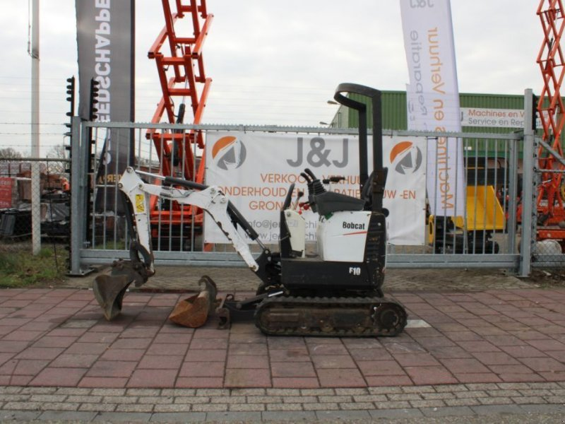 Kettenbagger типа Bobcat E10 - Huurkoop/lease  250,00 per maand, Gebrauchtmaschine в Sint Willebrord (Фотография 1)