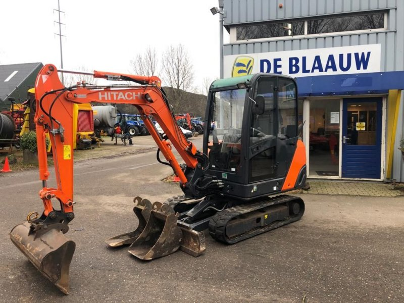 Kettenbagger tip Hitachi Zaxis ZX 27-3 CLR, Gebrauchtmaschine in Heerenveen (Poză 1)
