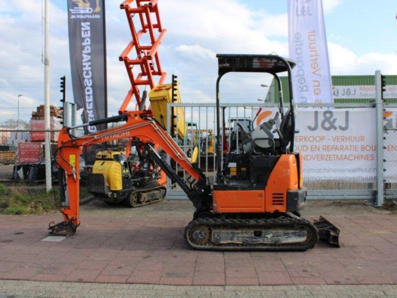 Kettenbagger типа Hitachi ZX19U - Huurkoop/lease  280,00 per maand, Gebrauchtmaschine в Sint Willebrord (Фотография 1)