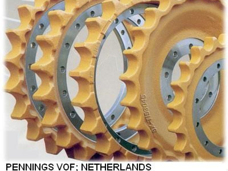 Kettenbagger типа Sonstige ALLE MERKEN ROL rubberen rups sprocket span, Gebrauchtmaschine в Nuland (Фотография 1)