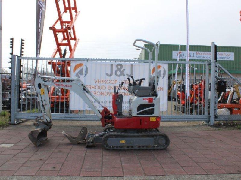 Kettenbagger типа Takeuchi TB210 - Huurkoop/lease  340,00 per maand, Gebrauchtmaschine в Sint Willebrord (Фотография 1)