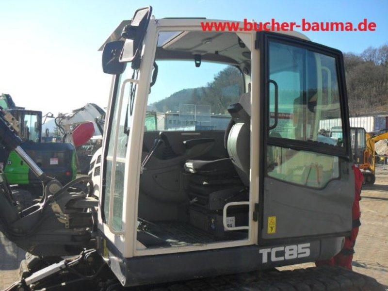 Kettenbagger типа Terex TC 85, Gebrauchtmaschine в Obrigheim (Фотография 6)