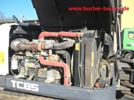 Kettenbagger типа Terex TC 85, Gebrauchtmaschine в Obrigheim (Фотография 8)