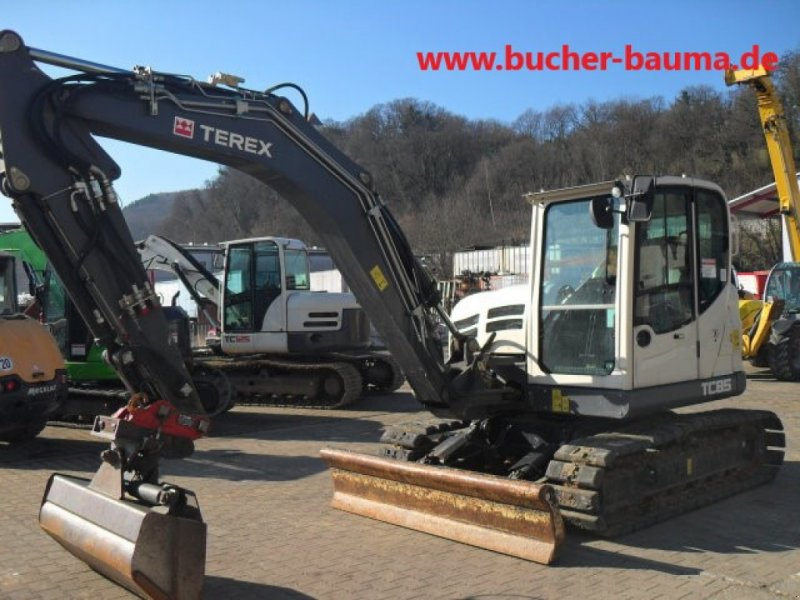 Kettenbagger типа Terex TC 85, Gebrauchtmaschine в Obrigheim (Фотография 9)