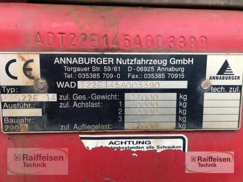 Kipper des Typs Annaburger Muldenkipper HTS 22, Gebrauchtmaschine in Wipperdorf (Bild 2)