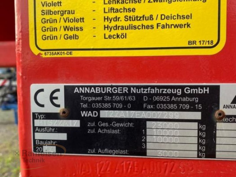 Kipper des Typs Annaburger SchubMax, Gebrauchtmaschine in Gera (Bild 4)