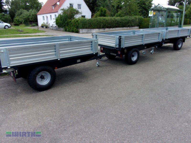 Kipper des Typs Bernardi E25 2,5 to Einachs-Dreiseitenkipper, Anhänger, Neumaschine in Buchdorf (Bild 2)