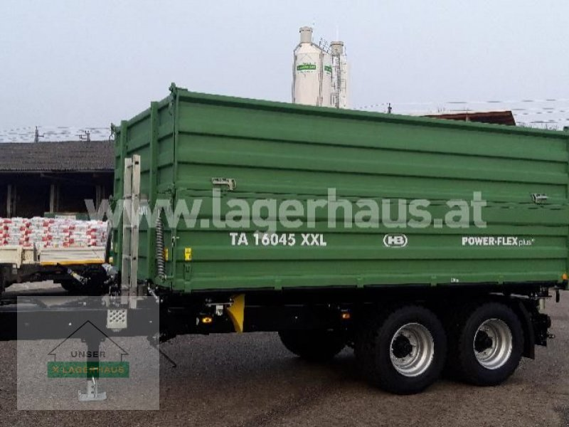 Kipper des Typs Brantner TA 16045/2XXL 40 KM/H, Neumaschine in Aschbach (Bild 1)
