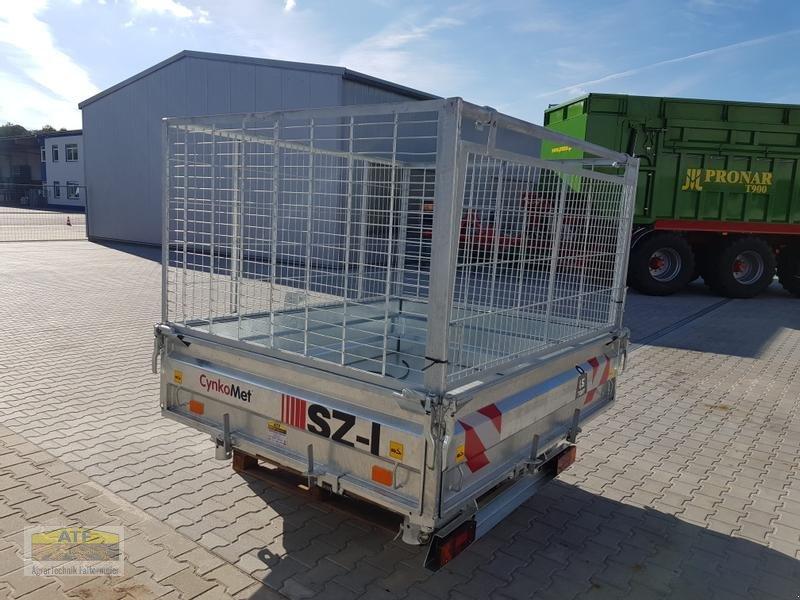 Kipper des Typs CYNKOMET SZ-1 Transportbox 3-Seiten-Kipper 1,5t mit Gitteraufsatz, Neumaschine in Teublitz (Bild 7)