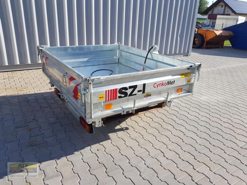Kipper des Typs CYNKOMET SZ-1 Transportbox 3-Seiten-Kipper 1,5t mit Gitteraufsatz, Neumaschine in Teublitz (Bild 14)