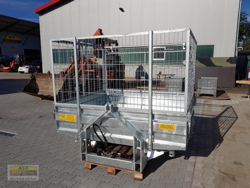 Kipper des Typs CYNKOMET SZ-1 Transportbox 3-Seiten-Kipper 1,5t mit Gitteraufsatz, Neumaschine in Teublitz (Bild 5)