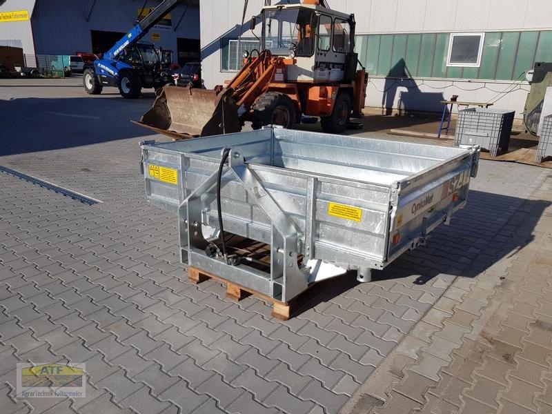Kipper des Typs CYNKOMET SZ-1 Transportbox 3-Seiten-Kipper 1,5t mit Gitteraufsatz, Neumaschine in Teublitz (Bild 11)