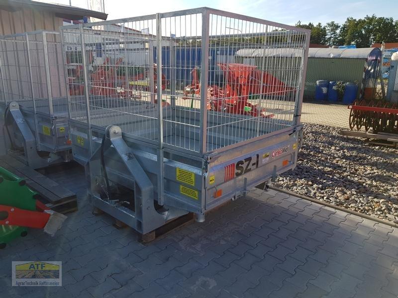 Kipper des Typs CYNKOMET SZ-1 Transportbox 3-Seiten-Kipper 1,5t mit Gitteraufsatz, Neumaschine in Teublitz (Bild 2)