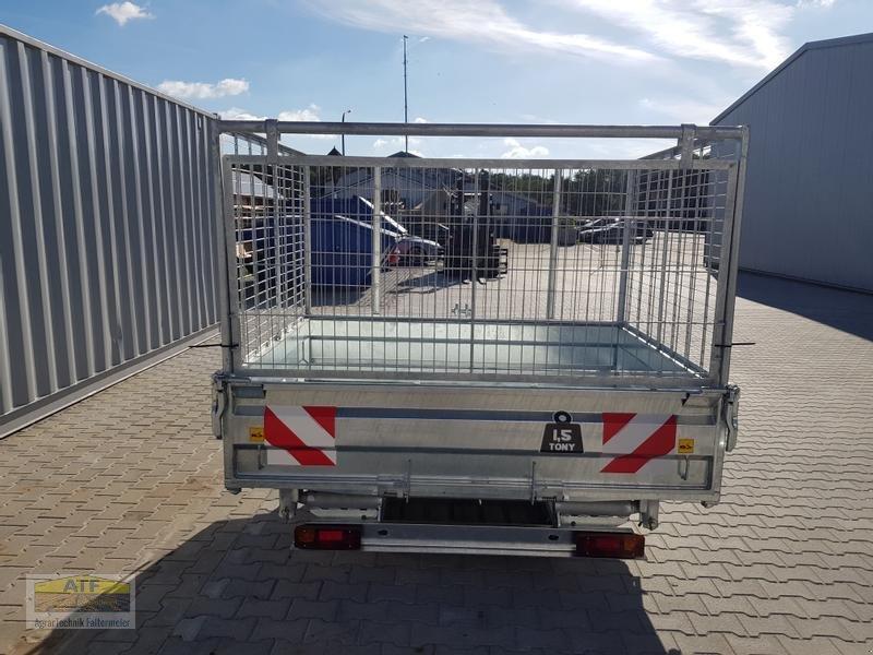 Kipper des Typs CYNKOMET SZ-1 Transportbox 3-Seiten-Kipper 1,5t mit Gitteraufsatz, Neumaschine in Teublitz (Bild 8)