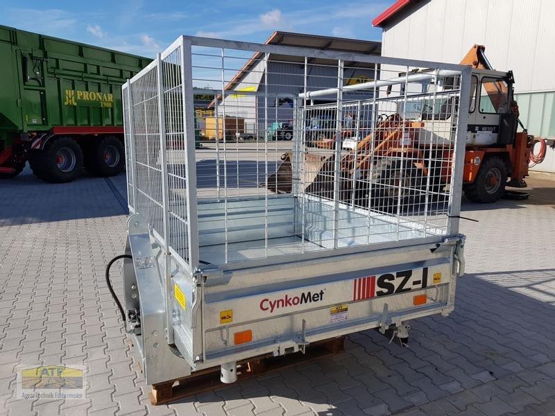 Kipper des Typs CYNKOMET SZ-1 Transportbox 3-Seiten-Kipper 1,5t mit Gitteraufsatz, Neumaschine in Teublitz (Bild 6)