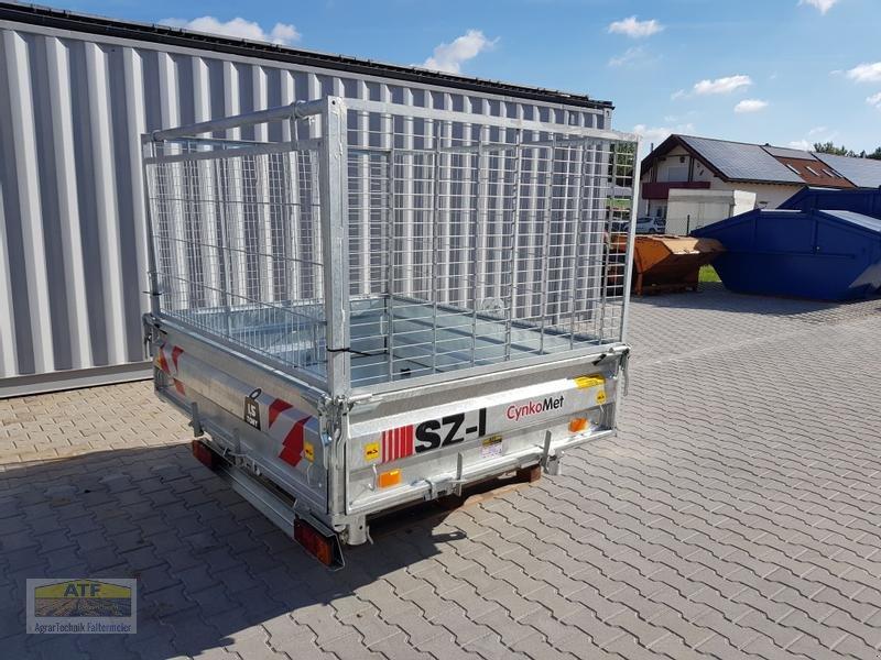 Kipper des Typs CYNKOMET SZ-1 Transportbox 3-Seiten-Kipper 1,5t mit Gitteraufsatz, Neumaschine in Teublitz (Bild 9)