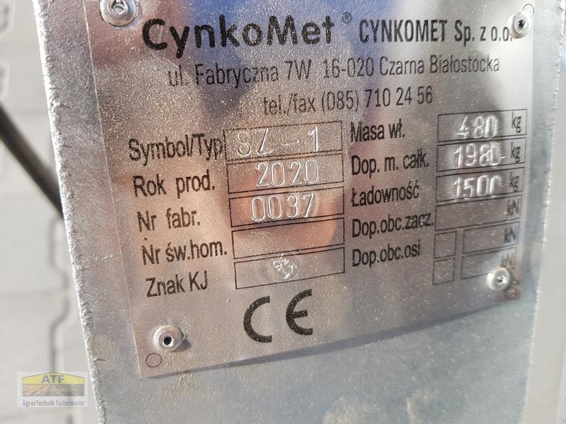 Kipper des Typs CYNKOMET SZ-1 Transportbox 3-Seiten-Kipper 1,5t mit Gitteraufsatz, Neumaschine in Teublitz (Bild 16)