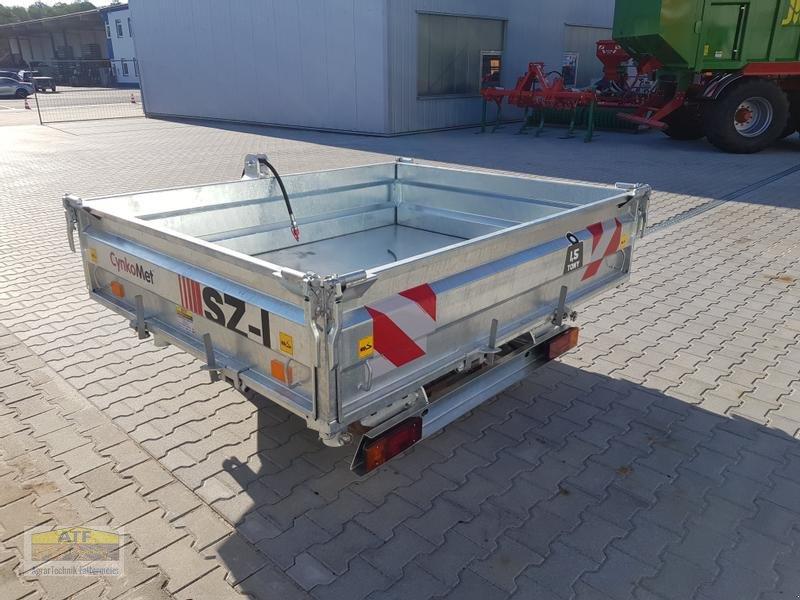Kipper des Typs CYNKOMET SZ-1 Transportbox 3-Seiten-Kipper 1,5t mit Gitteraufsatz, Neumaschine in Teublitz (Bild 13)