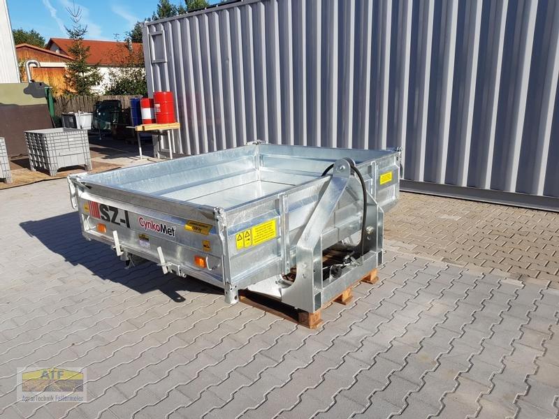 Kipper des Typs CYNKOMET SZ-1 Transportbox 3-Seiten-Kipper 1,5t mit Gitteraufsatz, Neumaschine in Teublitz (Bild 10)