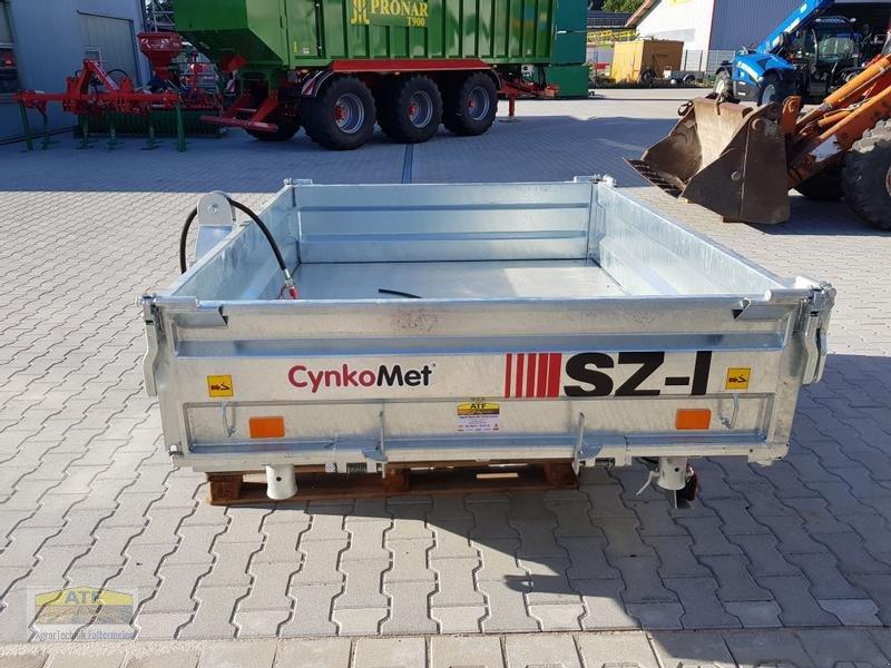 Kipper des Typs CYNKOMET SZ-1 Transportbox 3-Seiten-Kipper 1,5t mit Gitteraufsatz, Neumaschine in Teublitz (Bild 12)
