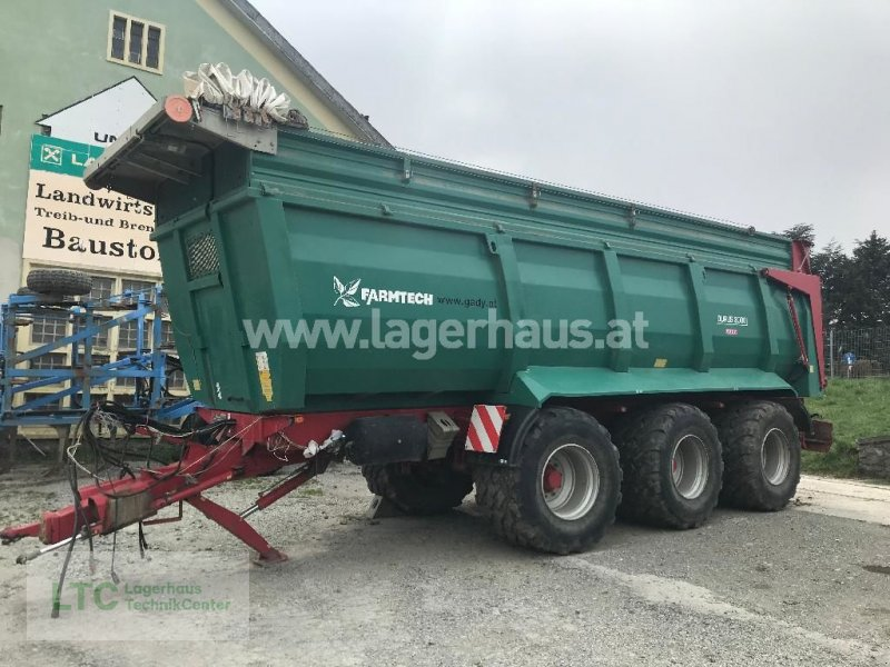 Kipper des Typs Farmtech DURUS 3000, Gebrauchtmaschine in Großpetersdorf (Bild 1)