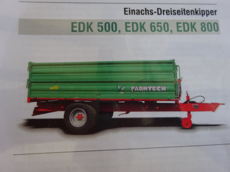 Kipper tip Farmtech EDK 500, Neumaschine in Herrieden (Poză 1)