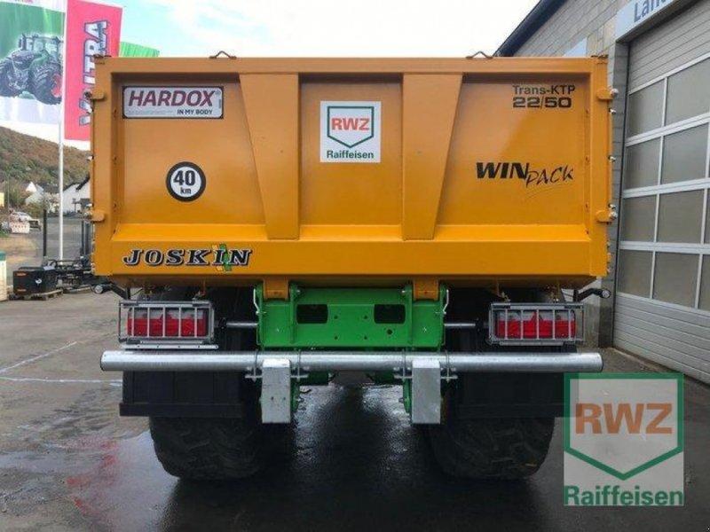 Kipper des Typs Joskin 22/50 Trans KTP, Ausstellungsmaschine in Prüm (Bild 6)