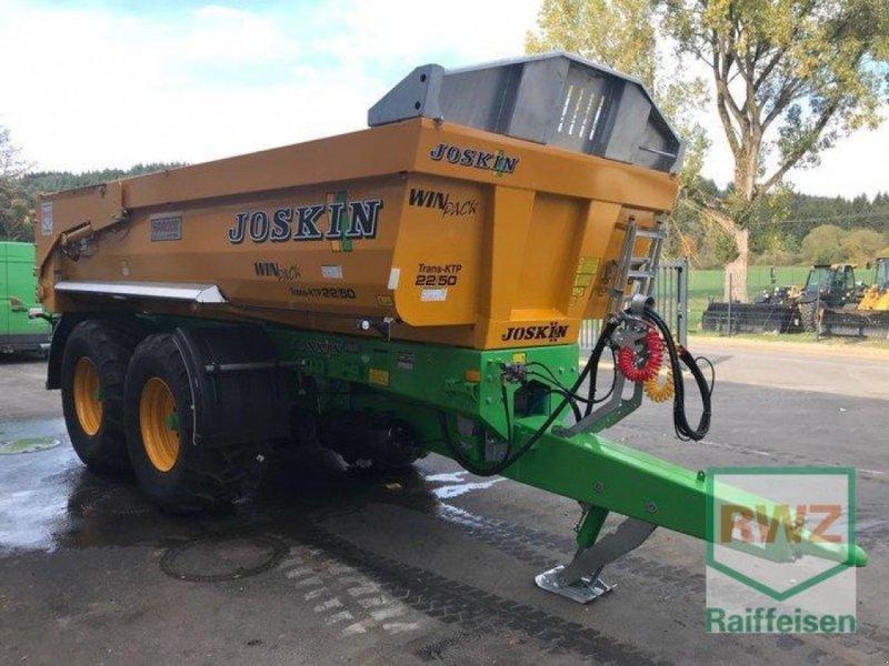 Kipper des Typs Joskin 22/50 Trans KTP, Ausstellungsmaschine in Prüm (Bild 5)