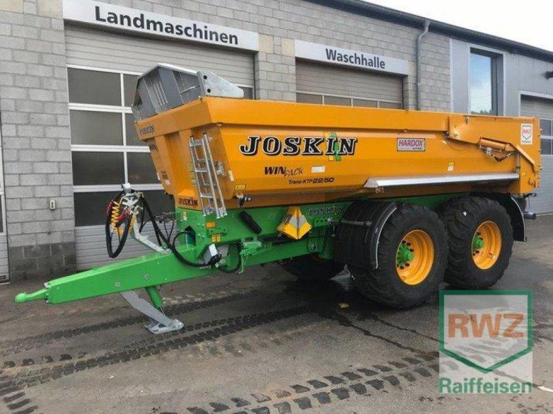 Kipper des Typs Joskin 22/50 Trans KTP, Ausstellungsmaschine in Prüm (Bild 1)