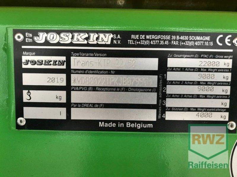 Kipper des Typs Joskin 22/50 Trans KTP, Ausstellungsmaschine in Prüm (Bild 2)