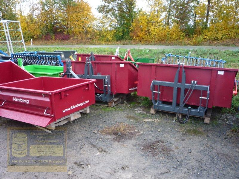 Kipper des Typs Klesberg Heckcontainer, Transportcontainer, Kippmulde, Heckmulde, Neumaschine in Pfarrweisach (Bild 1)