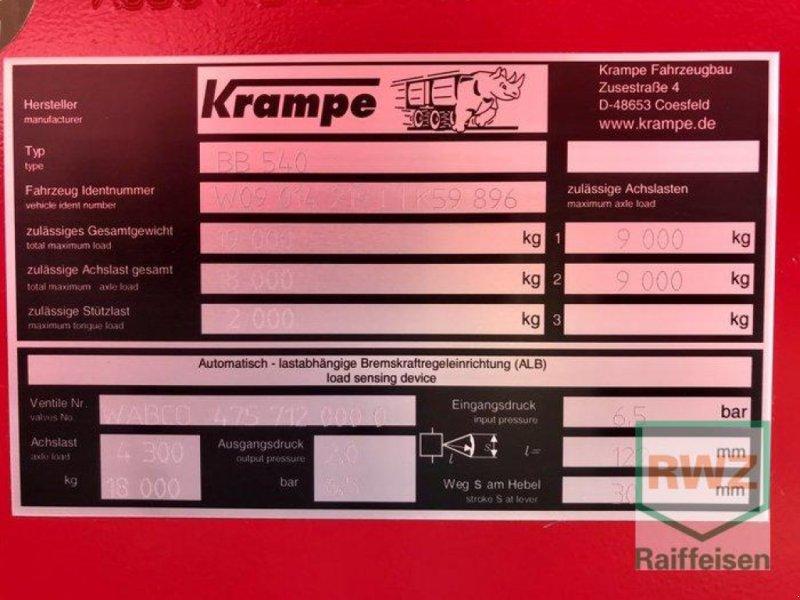 Kipper des Typs Krampe Big Body 540 Carrier Muldenkipper, Neumaschine in Rommerskirchen (Bild 5)