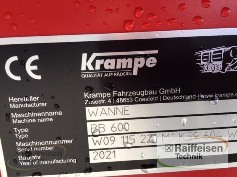 Kipper des Typs Krampe Big Body 600 Carrier, Gebrauchtmaschine in Hofgeismar (Bild 5)