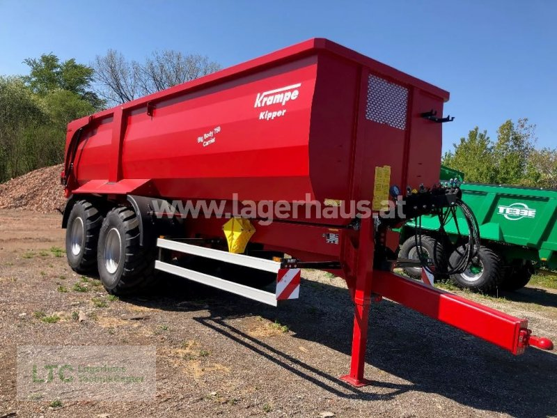 Kipper a típus Krampe BIG BODY 750 CARRIER, Neumaschine ekkor: Korneuburg (Kép 1)