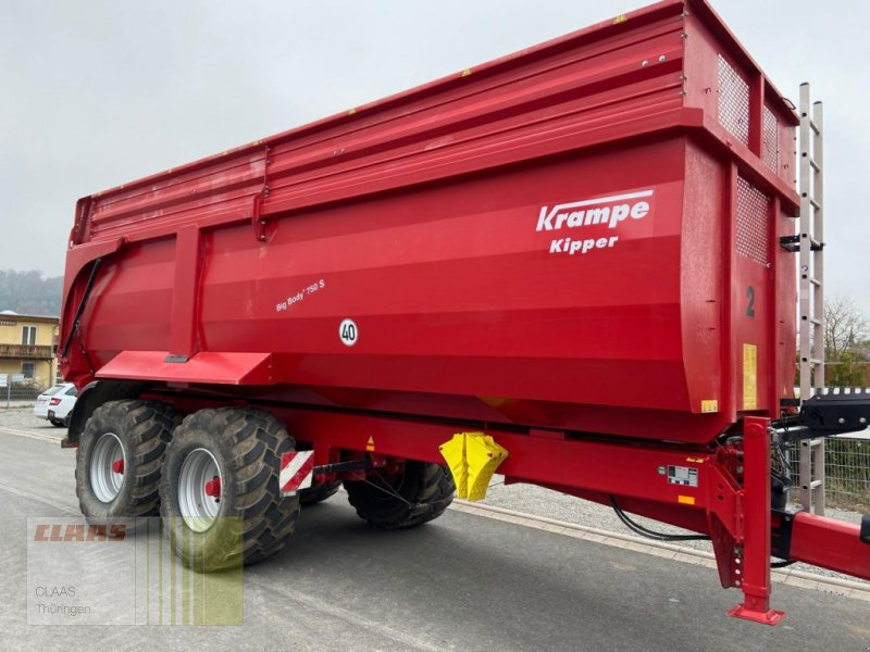 Kipper a típus Krampe Big Body 750 S, Gebrauchtmaschine ekkor: Vachdorf (Kép 1)