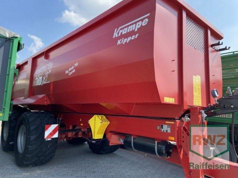 Kipper des Typs Krampe BigBody 750 Carrier, Ausstellungsmaschine in Mutterstadt (Bild 1)