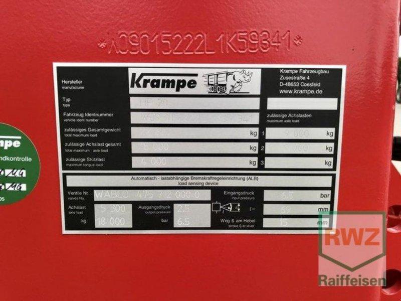 Kipper des Typs Krampe HP 20 Carrier, Ausstellungsmaschine in Rommerskirchen (Bild 5)