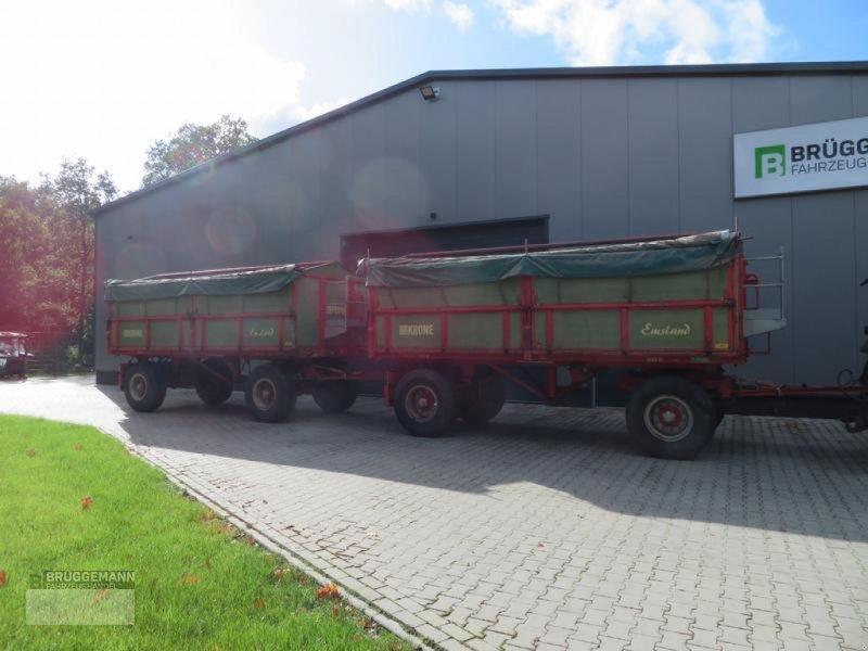 Kipper des Typs Krone 16 Tonnen Dreiseitenkipper, Kipper, Anhänger, Gebrauchtmaschine in Meppen (Bild 1)