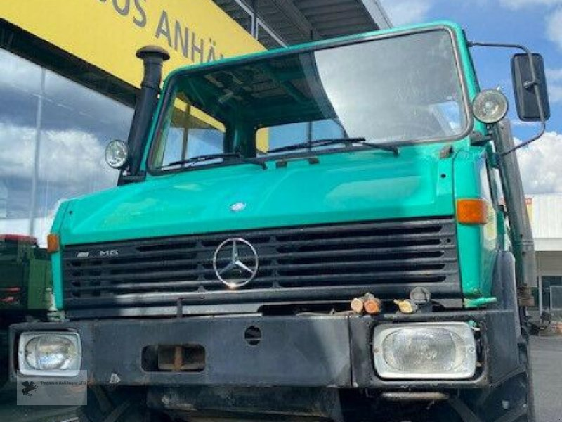 Kipper a típus Mercedes-Benz UNIMOG 424 Agrarfahrzeug  Kipper 80km/h, Gebrauchtmaschine ekkor: Gevelsberg (Kép 1)