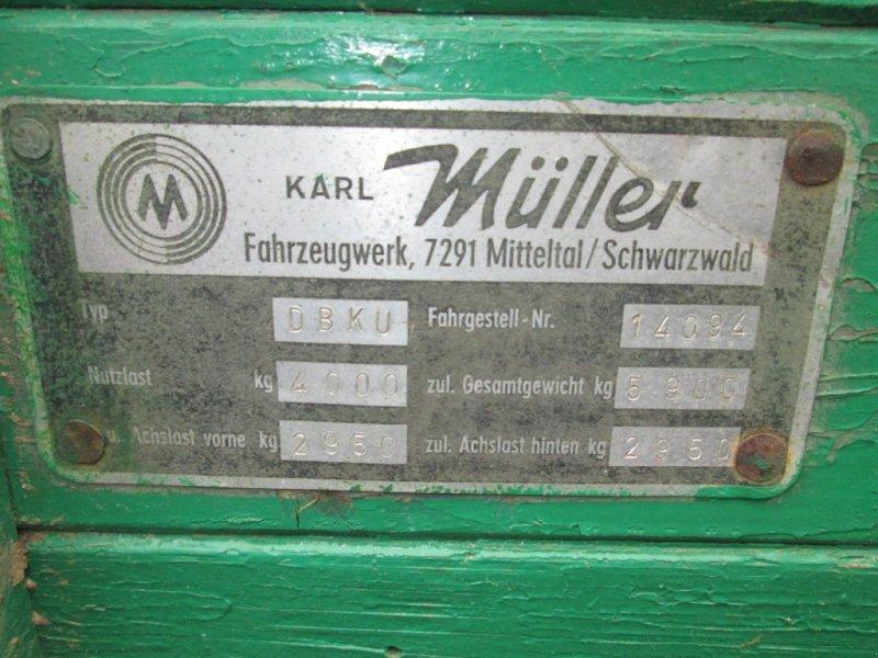 Kipper des Typs Müller-Mitteltal DBKU 5,9 to Dreiseitenkipper, Gebrauchtmaschine in Wülfershausen (Bild 4)