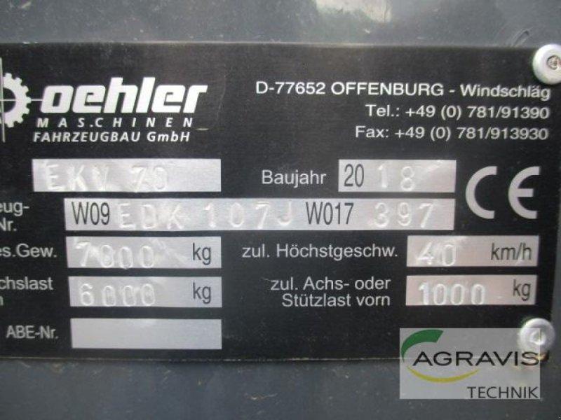 Kipper des Typs Oehler OL EDK 70, Gebrauchtmaschine in Lage (Bild 15)