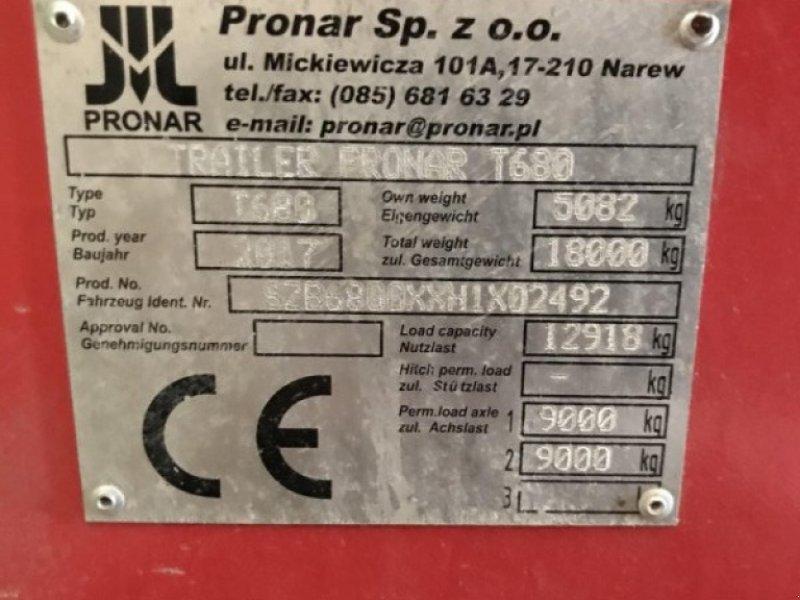Kipper tip PRONAR T 680, Gebrauchtmaschine in hausen (Poză 1)