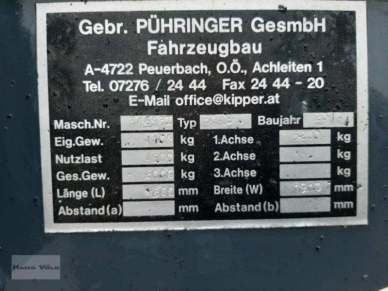 Kipper des Typs Pühringer 3018, Gebrauchtmaschine in Antdorf (Bild 9)