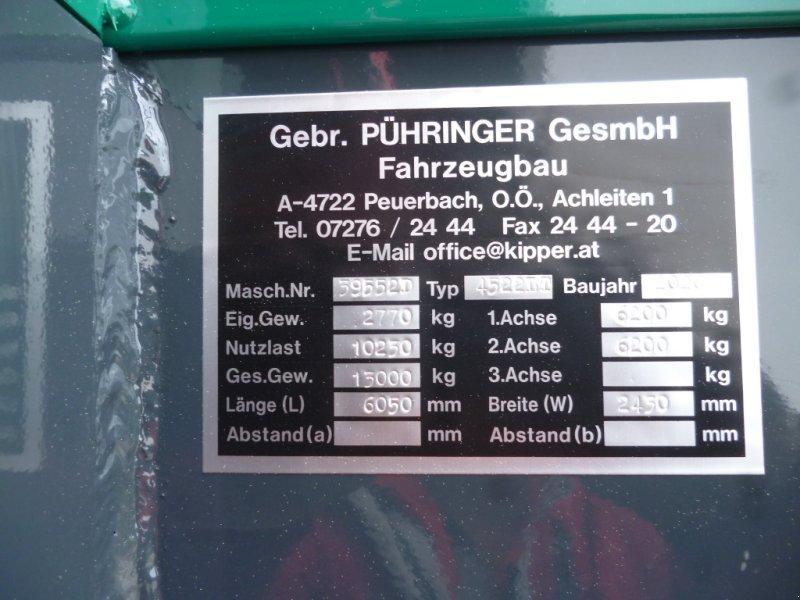 Kipper des Typs Pühringer 4522 LT, Tandemkipper, 3-Seitenkipper, Anhänger, Neumaschine in Bad Kötzting (Bild 15)