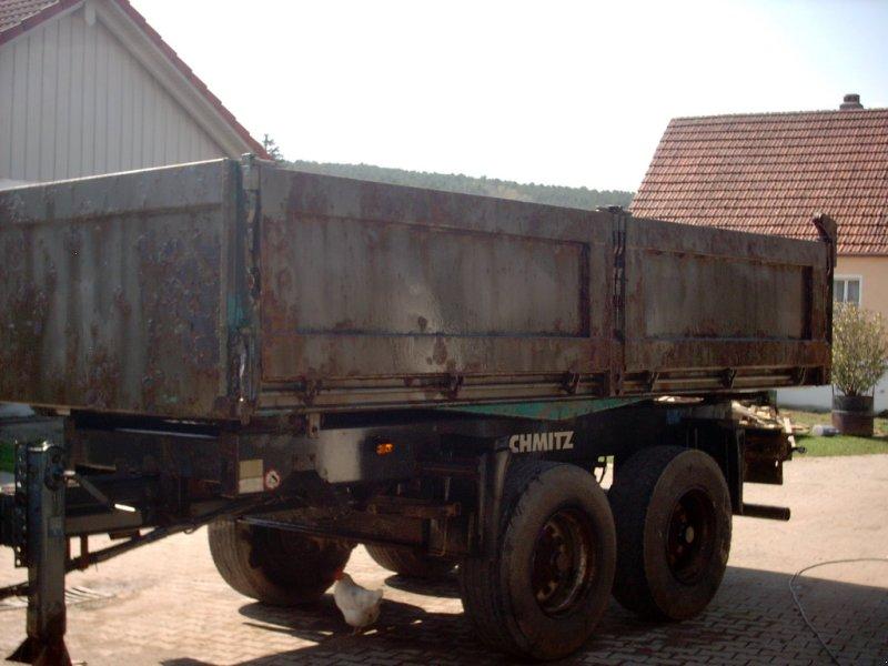 Kipper des Typs Schmitz Cargobull Tandemkipper, Gebrauchtmaschine in Schwandorf (Bild 3)