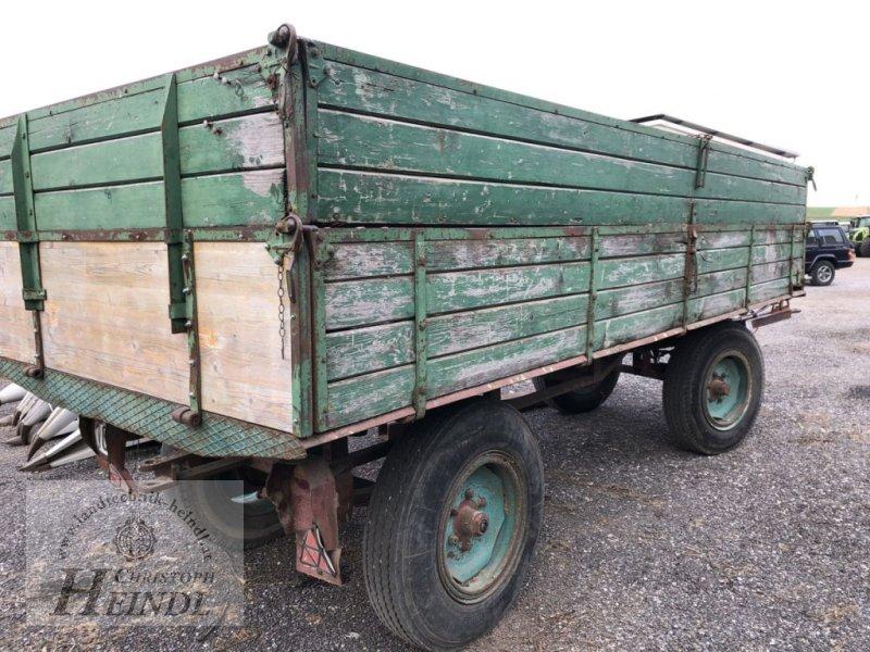 Kipper des Typs Sonstige 2 Achshänger Eigenbau, Gebrauchtmaschine in Stephanshart (Bild 1)