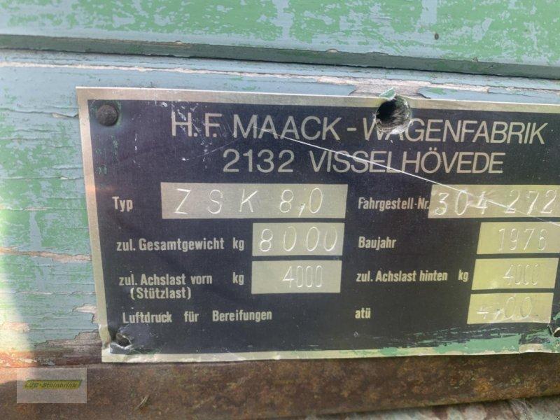 Kipper des Typs Sonstige ZSK 8,0, Gebrauchtmaschine in Barsinghausen OT Groß Munzel (Bild 6)