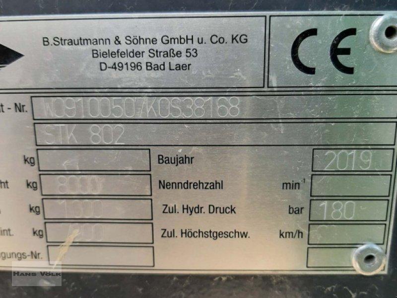 Kipper des Typs Strautmann STK 802, Gebrauchtmaschine in Antdorf (Bild 8)